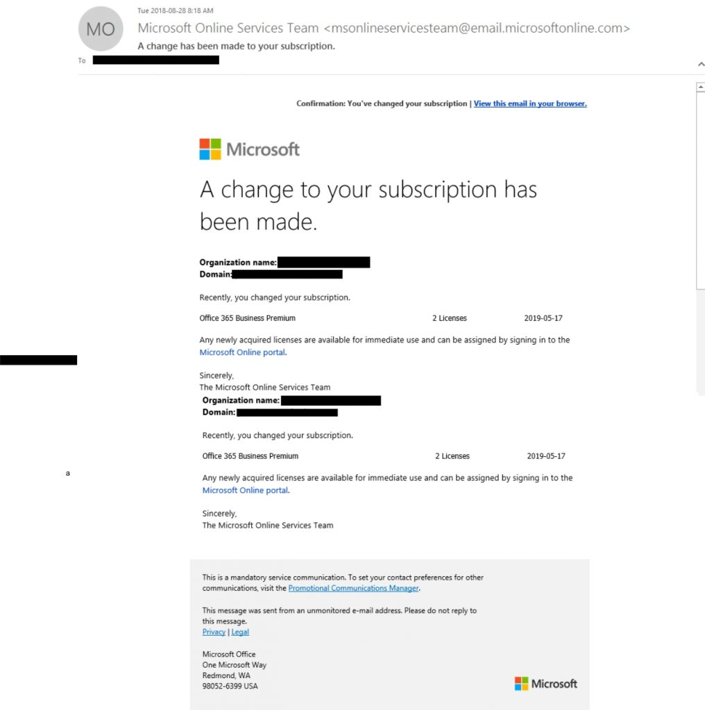 portal microsoft online 365 email